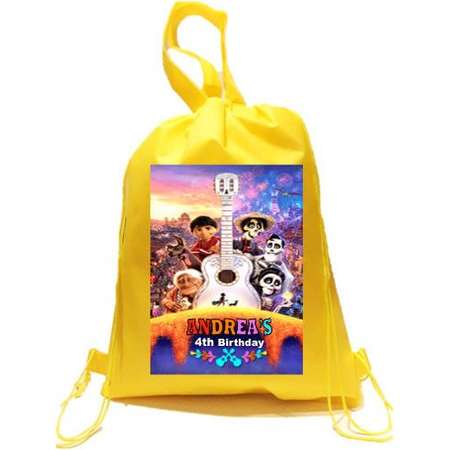 COCO Party, 10 Personalized Coco Backpack, Coco Favor Bags Backpack thumb