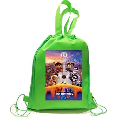 """COCO Party,40 Personalized Backpack, Favor Bags, Backpack,12""""x15""""inches thumb"""