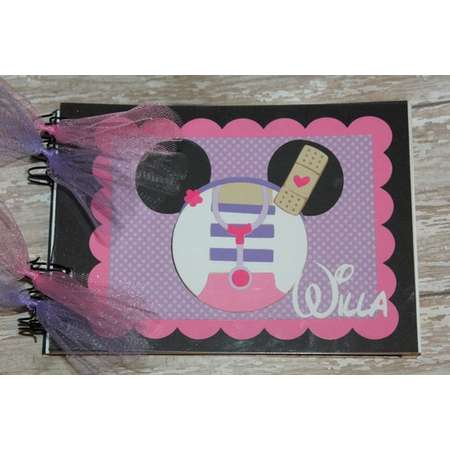 Personalized Disney Autograph Book Inspired by Doc McStuffins thumb