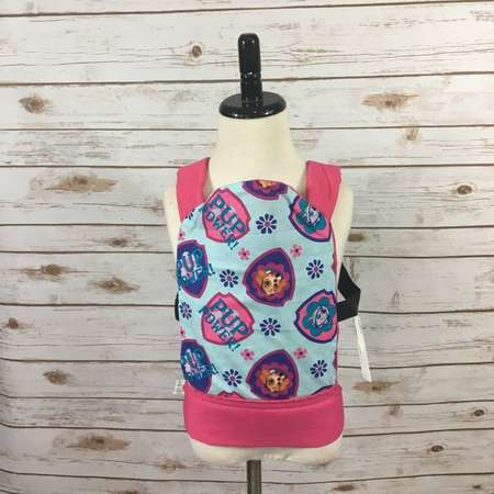 Paw Patrol Sky Doll Carrier READY TO SHIP (Mini Me Doll Carrier, Mini Tula, Mini Ergo, Build A Bear Backpack, American Girl Carrier thumb
