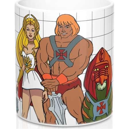 HeMan Masters Of The Universe Mug 11Oz SheRa Classic Tv 1980S Cartoon Gift for Him thumb