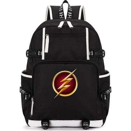 Superhero The Flash Backpack, Fashion Student School Backpack, Oxford Cloth Outdoor Travel Bag, Unisex Bag thumb