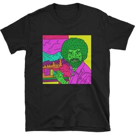 Glob Ross Bob Ross Short-Sleeve Unisex T-Shirt thumb
