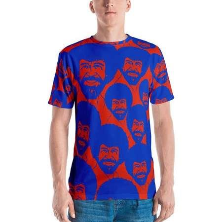 Bob Ross All Over Men's T-shirt thumb