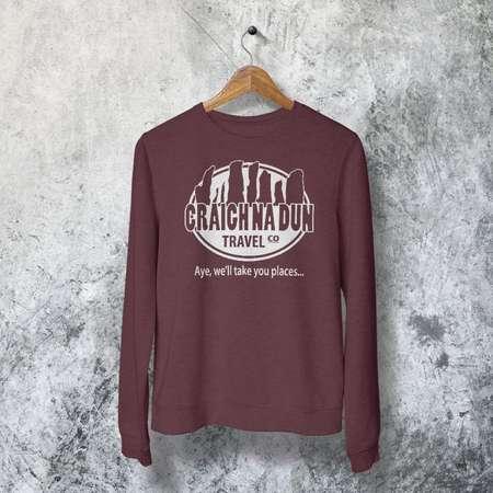 Craigh Na Dun Travel - Craigh Na Dun Shirt - Outlander Parody - Outlander - Outlander Sassenach - Jamie Fraser - Dinna Fash - Netflix Shirts thumb