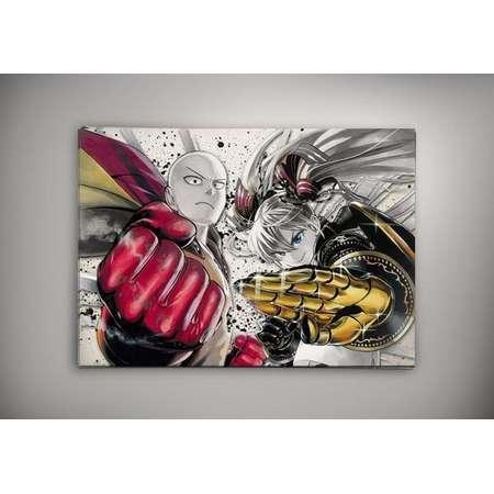 One Punch Man Watercolor Print thumb