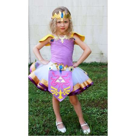 FREE SHIPPING Legend of Zelda cosplay, Zelda shirt, Zelda outfit, Zelda ensemble, Zelda Costume, Zelda tutu thumb