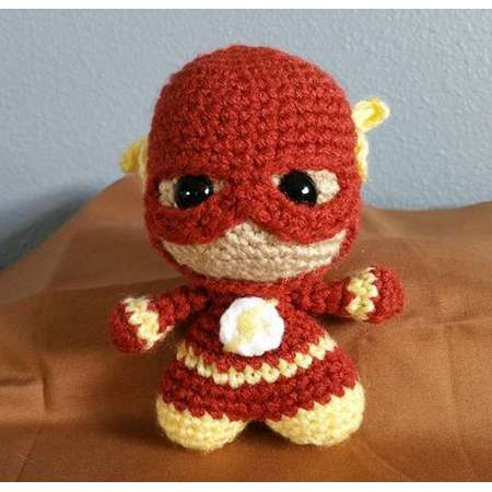 The Flash Amigurumi Doll Crochet Justice League thumb