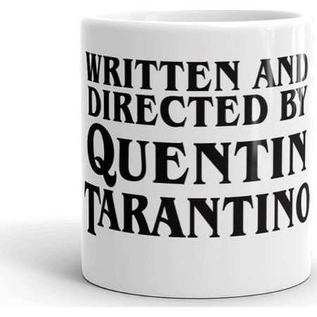Written and Directed by Quentin Tarantino Coffee Mug Gift, Coffee Mug, Coffee Cup, Coffee, Pulp Fiction Hateful Eight Kill Bill thumb