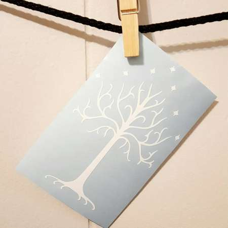 Tree of Gondor Car Decal Tree of Gondor Decal Tree of Gondor Sticker LOTR Decal LOTR Car Decal Lord of the Rings Decal thumb