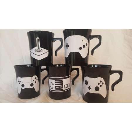 Gamer Favor Mug, Birthday Game Mug, Video Gaming Party, Gaming Favor Cups, Video Game Cups, Gamer Theme Party, Gaming Coffee Cup, Gamer Coco thumb
