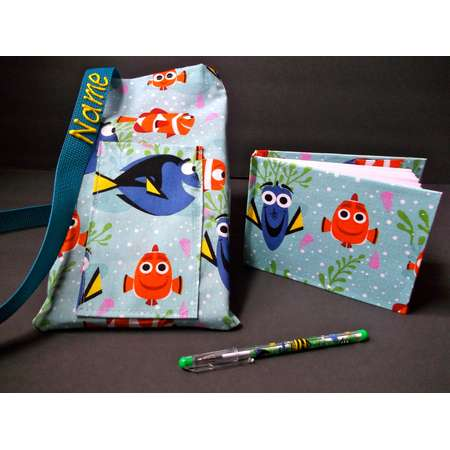 Disney Finding Dory Nemo autograph book bag with book bag and pen adjustable strap personalized for FREE Strap lanyard thumb