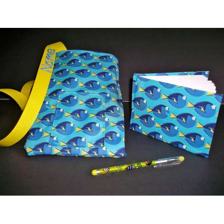 Disney Finding Dory Nemo autograph book bag with book bag and pen PERSONALIZED for FREE adjustable strap thumb
