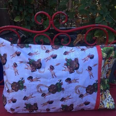 DISNEY MOANA Standard Pillowcase, 1 each - disney pillowcase - disney pillow sham - jumbo gift bag thumb