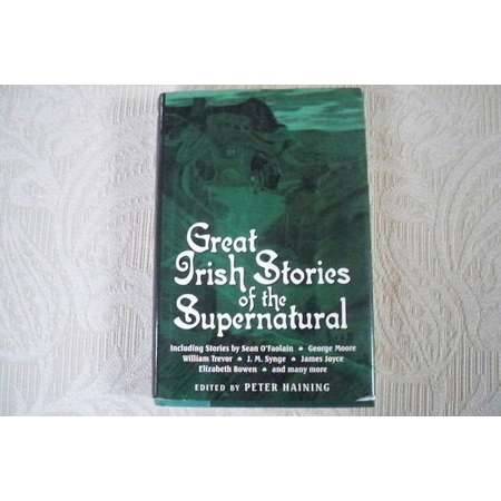 """Vintage Book """"Great Irish Stories of the Supernatural"""" Folktales St Patrick's Day Ghosts Witches thumb"""