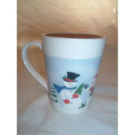 vintage ROYAL NORTHFORK   Christmas coffee / coco mug thumb