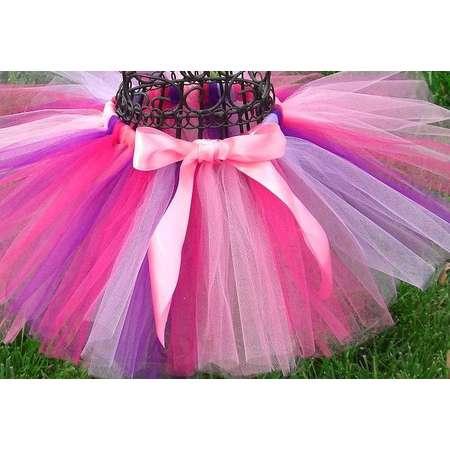 Pink and purple tutu- Girls Birthday Tutu-1st birthday tutu-3,6 9, 12, 18, 24 months, 2t, 3t, 4t, 5t- Doc McStuffins Costume- Party tutu thumb