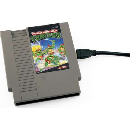 USB 3.0 NES Hard Drive - Teenage Mutant Ninja Turtles thumb