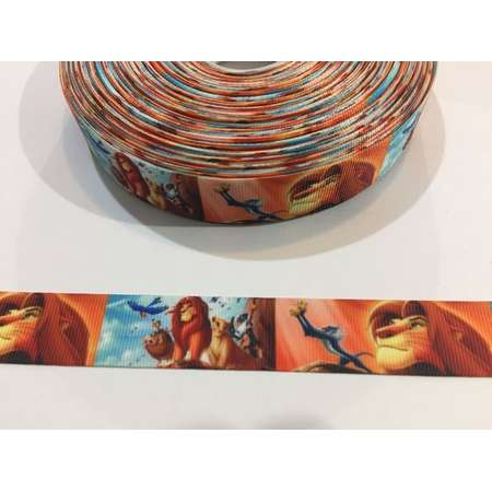 3 Yards of Ribbon 7/8 inch Wide - Lion King thumb