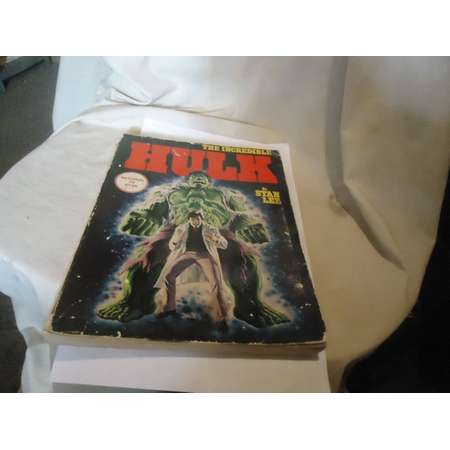 Vintage 1978 The Incredible Hulk Marvel Comic Book By Stan Lee, 253 Pages,  collectable thumb