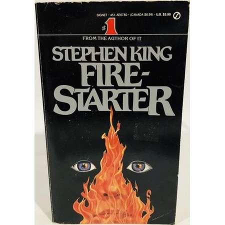 Vintage Supernatural Book Firestarter by Stephen King 1981 Paperback thumb