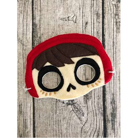 Coco Inspired Miguel Mask, Miguel Inspired Mask, Miquel Inspired Costume, Miguel Halloween, Miguel Pretend Play thumb