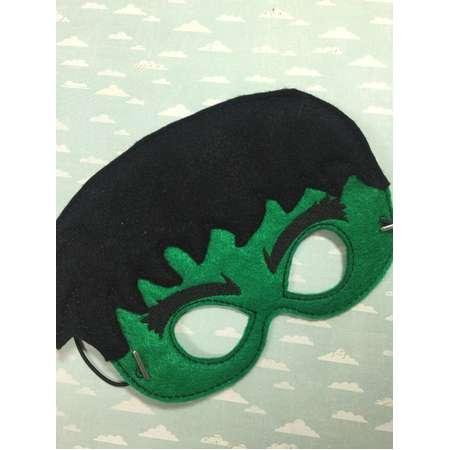 HULK | Photo Prop | Felt Mask | Kids Mask | hulk Mask | Party Mask | The Incredible Hulk Toy | Superhero Toys | Pretend Play thumb