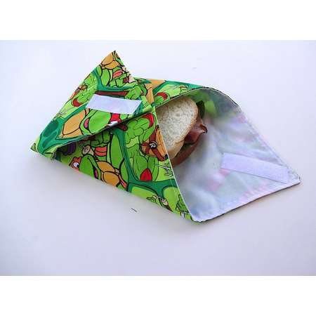 Reusable Sandwich Wrap Teenage Mutant Ninja Turtles thumb