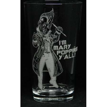 """Yondu """"I'm Mary Poppins Y'all"""" Etched Drinkware thumb"""