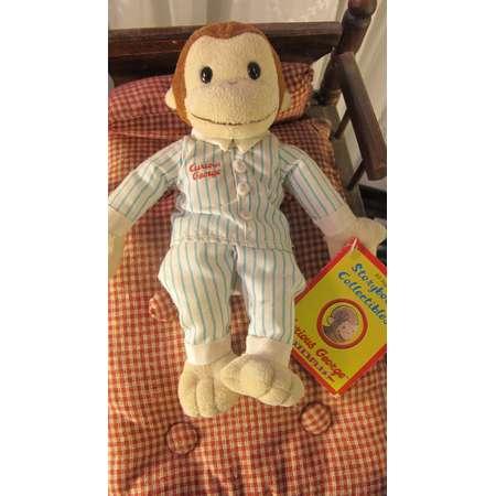 109f94edd1 Vintage 90 s Pajamas Curious George plush monkey by Equity Toys 7