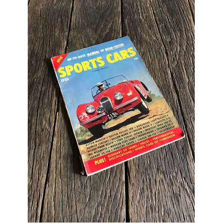 Vintage Sports Cars Magazine - 1955 Manual Of Road-Tested Sports Cars A Hillman Publication - Vintage Sports Cars Pictures - Classic Cars thumb