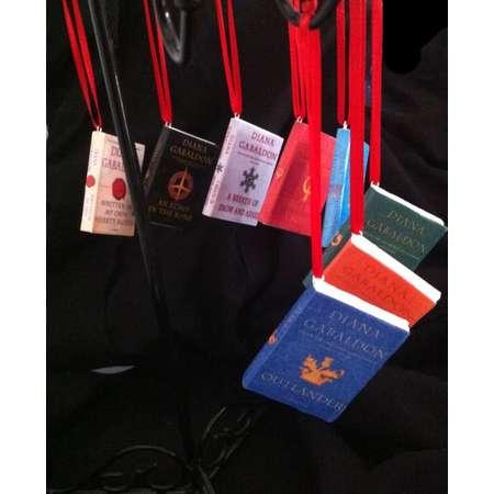 Outlander Mini Book Ornament Set thumb
