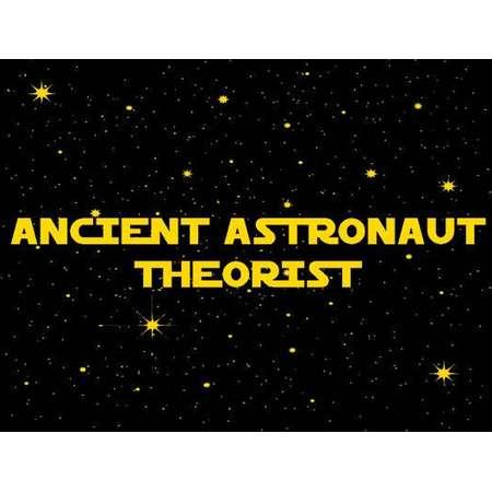 UFO TSHIRT Ancient Astronaut Theorist T-Shirt Area 51 Ufo Sci Fi Alien Mens Kids Tee Shirt also available on crewnecks and hoodie SM-5XL thumb