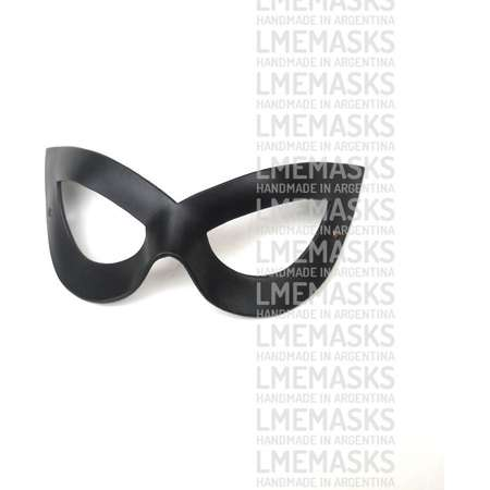 Catwoman 50's Rockabilly Style Leather Mask Black Pin Up Teen Titans Super Hero Sexy Halloween Masquerade Cat Woman Batman Costume Cosplay thumb