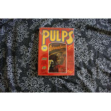 The Pulps. Vintage Pulp Fiction Collection Book. Huge Retro Pulp Short Stories, Pulp Advertisements and Art. 1970 Pulp Art Coffee Table Book thumb
