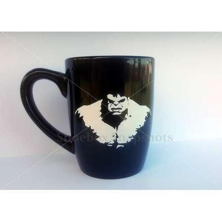 Hulk Inspired Coffee Mug, The Incredible Hulk, Super Hero, Justice League, DC Comics, Marvel, Personalized Cup, Custom Mug, Gifts for Men thumb