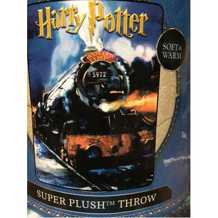 Harry Potter throw, fleece throw, hogwarts express throw thumb
