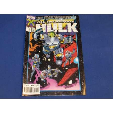 Marvel THE INCREDIBLE HULK January 1993 Comic Book thumb