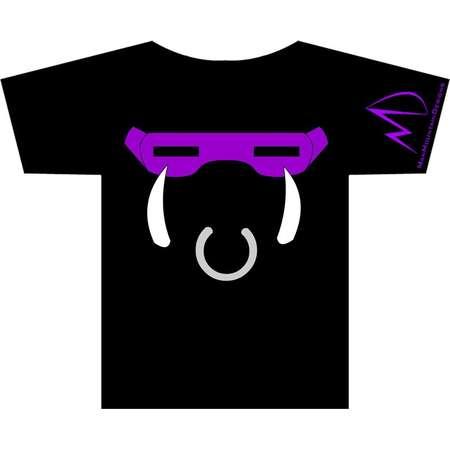TMNT Teenage Mutant Ninja Turtles Bebop METALLIC T-shirt thumb