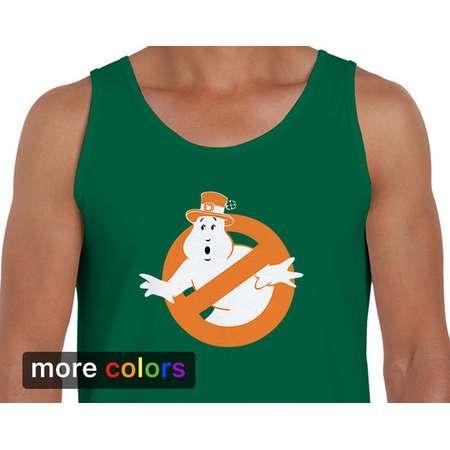 Irish Ghostbusters Leprechaun Mens Tank Top St Patricks Day Ireland Kiss Me I'm Irish thumb
