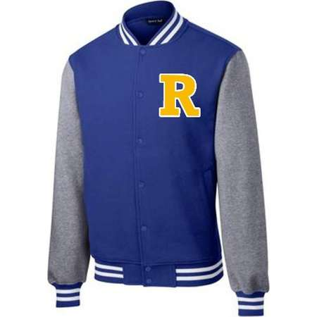"Riverdale ""R"" Varsity Sweatshirt Jacket thumb"