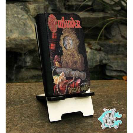Outlander Book Cover Folio Phone Case Made to Fit Apple iPhones, Samsung Galaxy & Note Smart Phones thumb