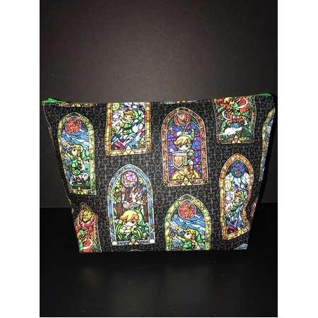 Legend of Zelda Large Zipper Bag thumb