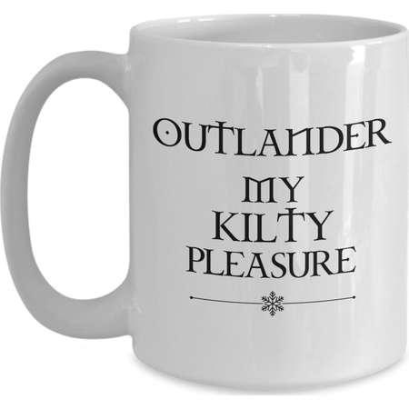 BEST SELLER Outlander My Kilty Pleasure Mug Gift for Outlander Fan thumb