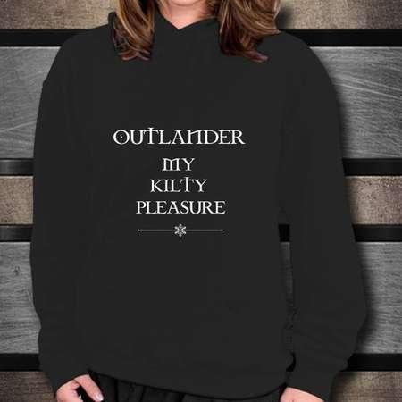 Outlander Gift My Kilty Pleasure Hoodie thumb