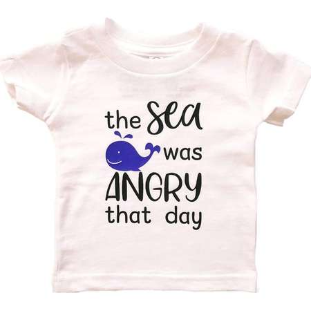 3e6642e7 Seinfeld - TV Show - The Sea Was Angry That Day - George Costanza - Baby  Bodysuit and Toddler T-Shirt - 90s TV, Whale, My Friends