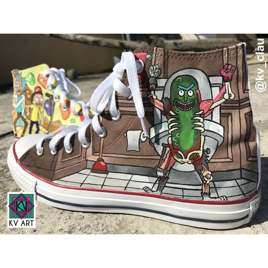 Rick And Morty Pickle Rick Costume | ToonStyle Products