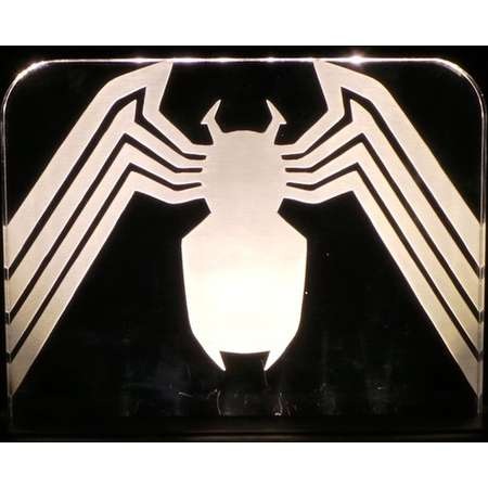 Venom from Spiderman Acrylic LED light sign, led display sign, led lite sign, led night light, LED sign, LED lamp thumb