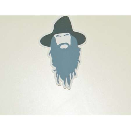 Gandalf Lord of the Rings Vinyl Sticker   Water Bottle   Lap Top   Gift thumb