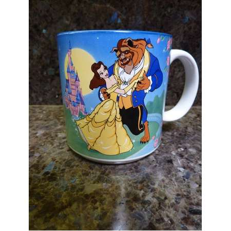 beauty and the beast belle mug toonstyle products
